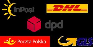 InPost DHL dpd gls